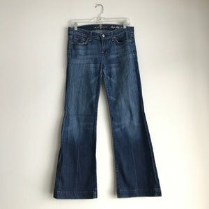 7 for all Mankind Dojo Flip Flop Jeans Size 29